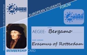 AEGEE Membership Card