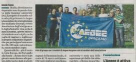 Articolo L'ECO DI BERGAMO 22/04/2011