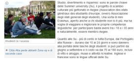 Articolo L'ECO DI BERGAMO.it 22/04/2011