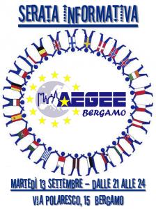 AEGEE-Bergamo - Serata Informativa