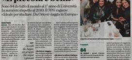 Articolo L'ECO DI BERGAMO del 26/10/2011