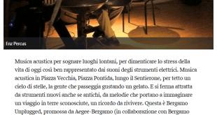 2014-07-02 - Il Corriere Della Sera - Bergamo Unplugged