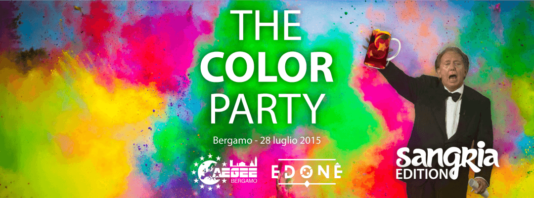 THE COLOR PARTY - Allegria Edition