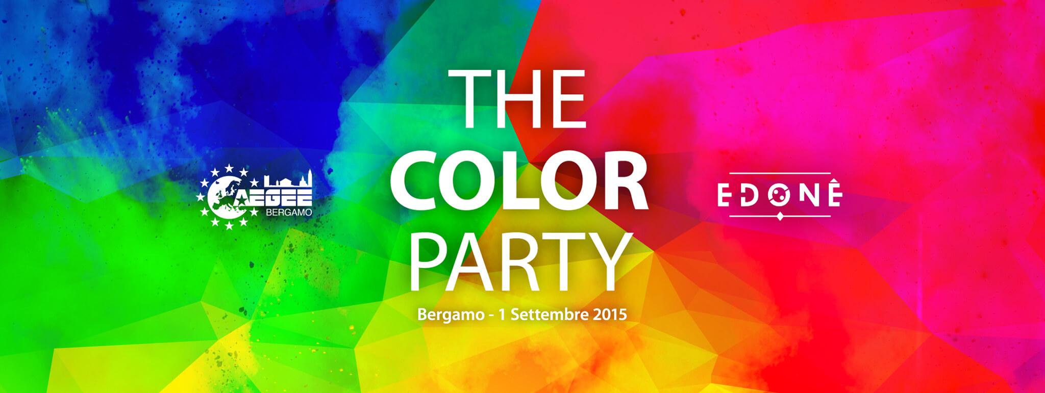 THE COLOR PARTY - Closing Summer Edition | AEGEE-Bergamo
